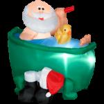 Украсим ванную к новому году